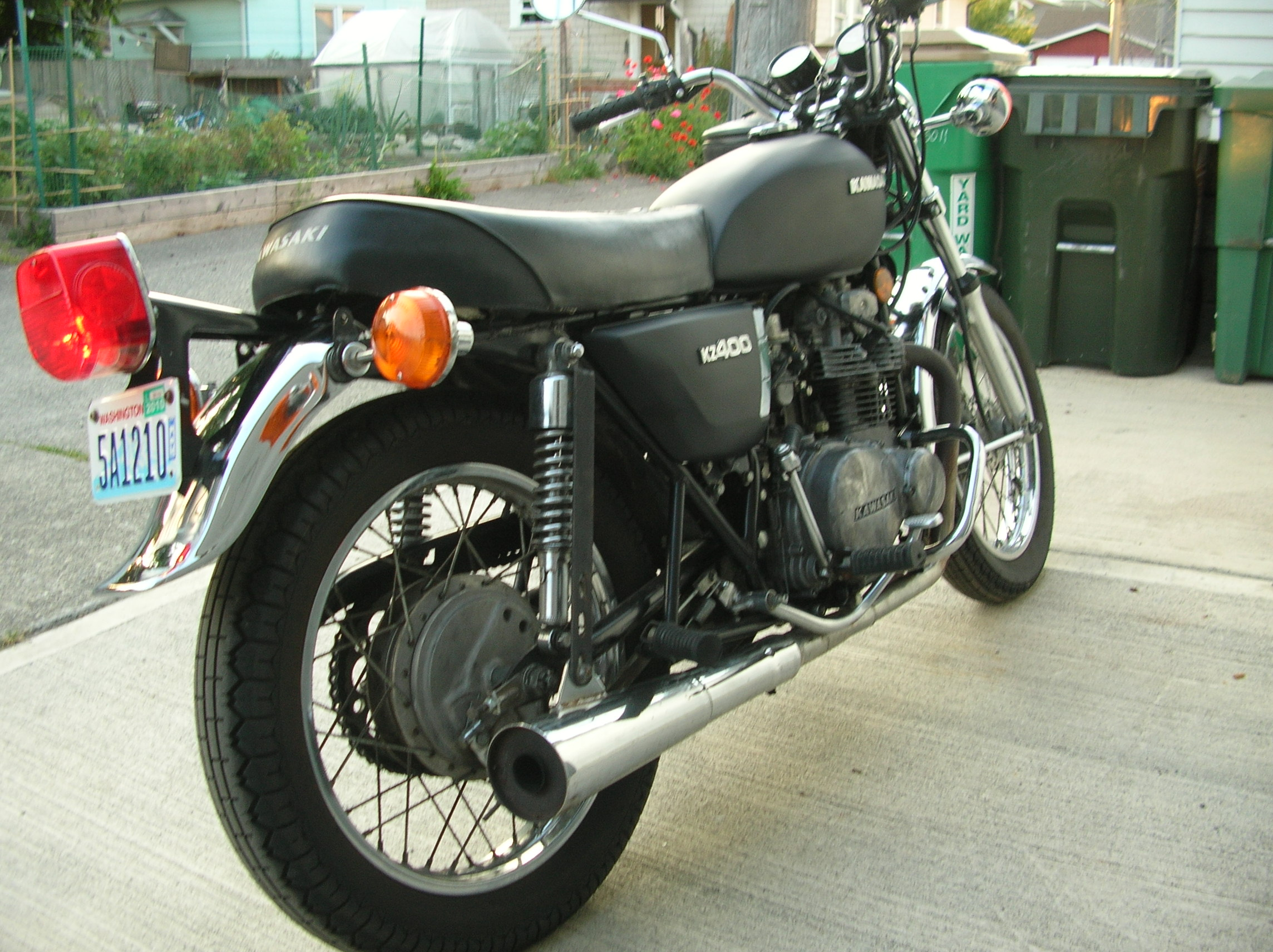 Youth With A Mission (YWAM) – 1976 Kawasaki KZ400 (Lazarus 1 ...